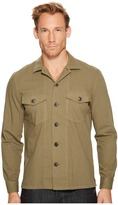 7 For All Mankind Long Sleeve Military Shirt Men's Clothing