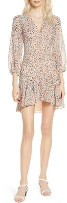 Ali & Jay Point Dume Spot Print Chiffon Minidress