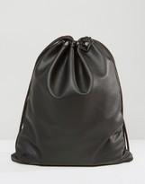 Mi-Pac Tumbled Drawstring Bag Black