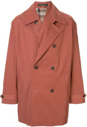 Y/Project oversized trench coat