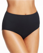 Anne Cole High-Waist Swim Brief Bottom