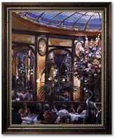 "KitchenArt ""Restaurant View"" Framed Canvas Art by Lowndes"