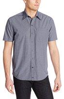 Cutter & Buck Men's Short Sleeve Voyager Print Shirt