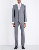 Armani Collezioni Checked Slim-fit Wool Suit
