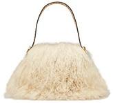 Tory Burch Sawyer Fur Small Shoulder Bag