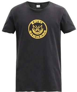 Ksubi Sinister Logo-print Cotton-jersey T-shirt - Black
