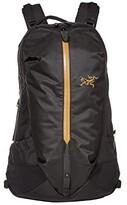 Arc'teryx Arro 22 Backpack (24K Black) Backpack Bags