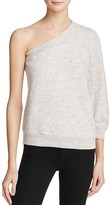 Splendid One Shoulder Sweatshirt - 100% Exclusive
