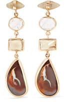 Melissa Joy Manning 14-karat Gold Multi-stone Earrings - one size