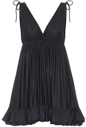 Balenciaga Jersey babydoll dress