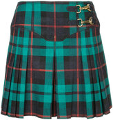 Esteban Cortazar tartan pleated skirt