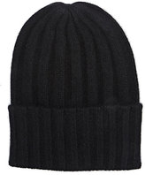 The Elder Statesman Men's Short Bunny Echo Hat-BLACK
