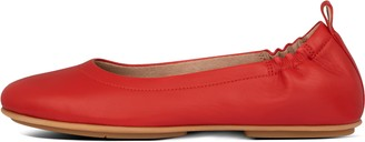 FitFlop Allegro Soft Leather Ballet Flats