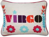 Jonathan Adler Virgo Zodiac Needlepoint Throw Pillow