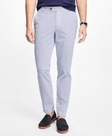Brooks Brothers Milano Fir Micro Sailboat Print Pants
