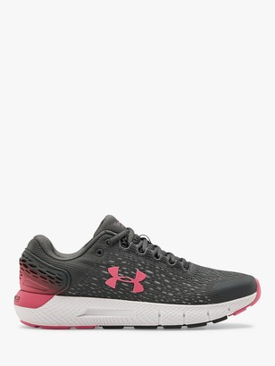 Under Armour Charged Rogue 2 Women's Running Shoes, Pitch Grey/White/Slate Purple