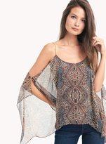 Ella Moss Casablanca Tapestry Scarf Hem Cami