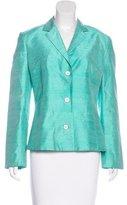 Dolce & Gabbana Silk Textured Blazer