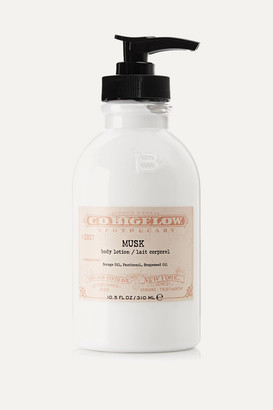 C.O. Bigelow Musk Body Lotion, 310ml - Colorless