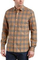 Burberry Alexander Check Cotton Sport Shirt