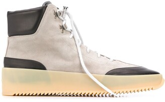 Fear Of God Panelled Hi-Top Sneakers