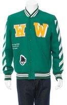 Off-White Fall 2015 Letterman Varsity Jacket