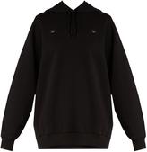 Acne Studios Yala Face cotton hooded sweatshirt