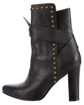 Ulla Johnson Stud-Embellished Pointed-Toe Ankle Boots