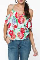 Everly Floral Top