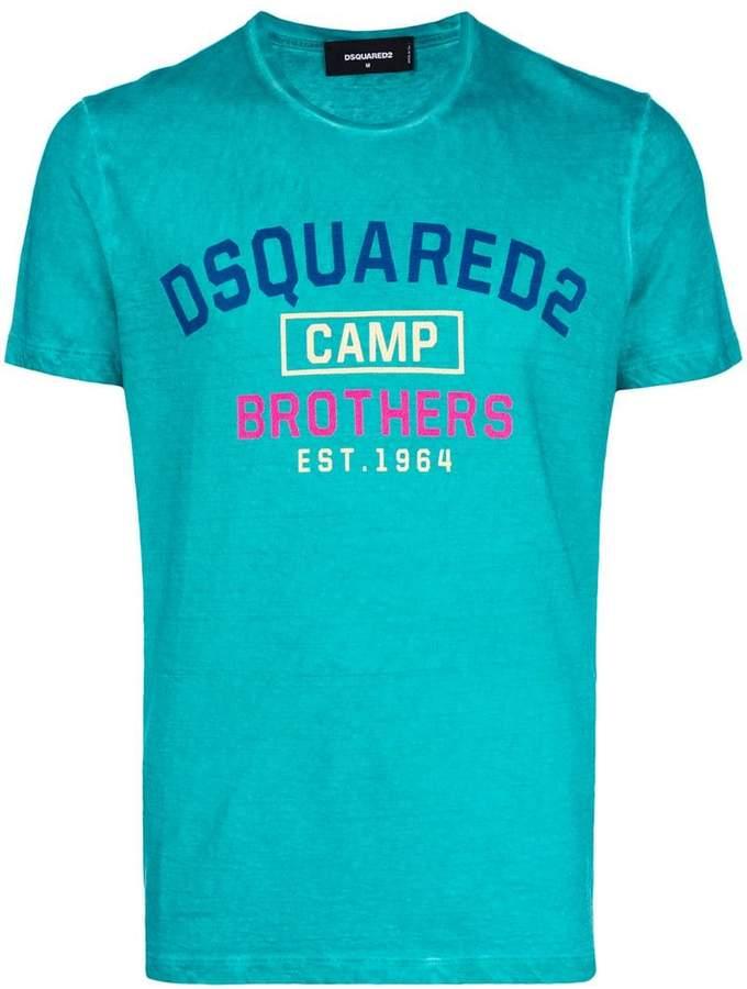 DSQUARED2 Camp print T-shirt