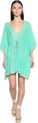 Missoni Knit Cover Up Mini Dress