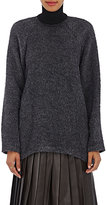 Martin Grant Women's Brushed Mohair-Blend Sweater-Grey