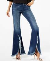 INC International Concepts I.n.c. Curvy Split Tulip-Hem Jeans, Created for Macy's
