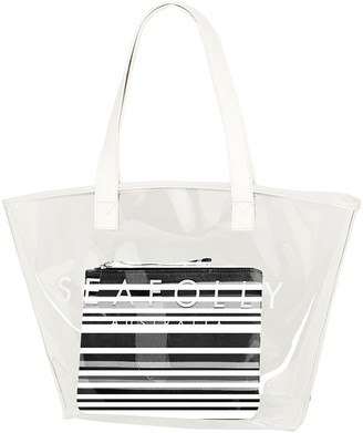 Seafolly Clear Beach Tote Bag