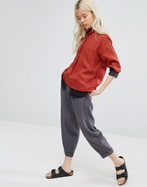 NATIVE YOUTH Oversized Pants With Turn Ups