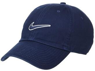 Nike H86 Essential Swoosh Cap (Obsidian/Obsidian) Caps