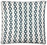 Envogue International Camelia Embroidered Accent Pillow in Blue/Green