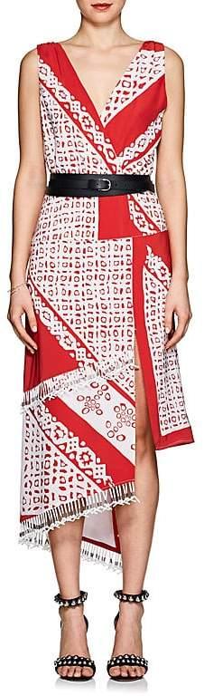 Altuzarra Women's Pavillion Silk Crêpe De Chine Dress