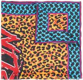 Lala Berlin leopard print scarf