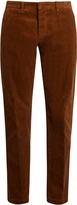 Ami Seamless cotton-corduroy trousers