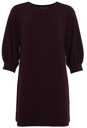 French Connection Abelena Dress - 12 / Plumb Noir - Purple