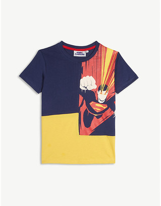 Fabric Flavours Superman heat vision cotton T-shirt 3-10 years