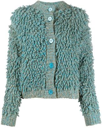 Roberto Collina Furry Knit Cardigan