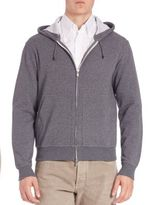 Brunello Cucinelli Long Sleeve Hooded Jacket