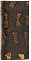 Bottega Veneta Bi-fold Watersnake And Leather Wallet
