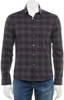 Apt. 9 Men's Slim-Fit Untucked Button-Down Shirt