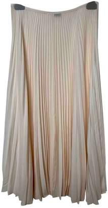 Joseph Ecru Silk Skirt for Women