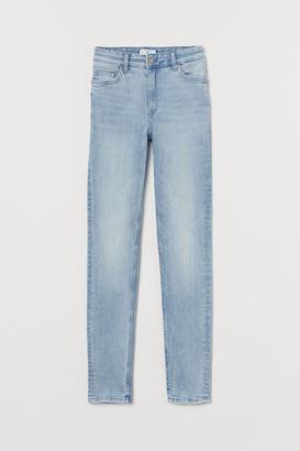 H&M Slim-fit Pants - Blue