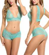 Avidlove Women Lingerie Sleepwear Lace Pajama Sexy Camisole Short Sets XL