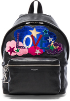 Saint Laurent City Mini Love Backpack